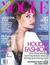 ANGELINA JOLIE Raquel Zimmermann COLIN FIRTH 2010 Vogue magazine  Zimmerman