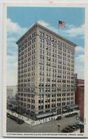 CITY NATIONAL BANK BLDG~ORPHEUM THEATER~OMAHA,NE~1920? POSTCARD