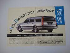 advertising Pubblicità 1994 VOLVO 850 SW STATION WAGON