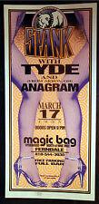 Rare Mark Arminski Spank Ferndale, MI 1995 Concert Poster