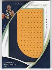 Donovan Mitchell RC 2017-18 Panini Immaculate Jersey Number Patch #39/50