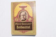 23704 Pfarrer Heumanns Heilmittel Buch Verzeichnis Katalog 1925