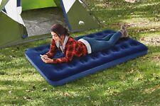Ozark Trail Dark Blue Inflatable Coil Beam Construction Air Mattress Twin Size