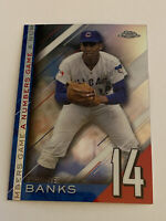 2020 Topps Chrome Update Ernie Banks NGC-19 A Numbers Game Chicago Cubs