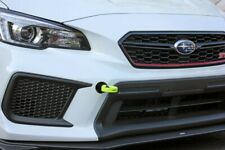 Perrin Neon Yellow Front Tow Hooks Kit for 2018-2020 Subaru WRX STI