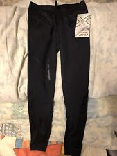 2XU MCS Womens Compression Tights Size Small Black Nero New With Tags