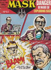 M.A.S.K. - #63 - 1988 Original UK-Comic zur Toyline DC Phantasie ist ihre Stärke