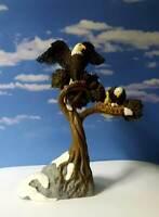 DEPT 56 Village Accessories BALD EAGLE NESTING!  Wildlife, Patriotic, Bird
