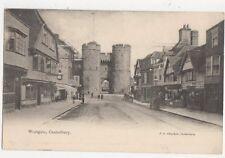 Westgate Canterbury Vintage Postcard 418a