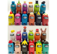 """12 PCs Set 3"""" Among Us Action Figure Crewmate Imposter Toys Figure Doll Gift"""