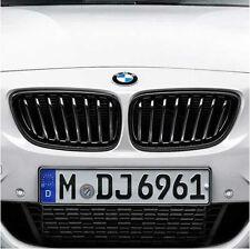 BMW OEM M Performance Black Kidney Grilles 2011-2016 5 Series Sedans 51712165539