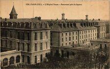 CPA PARIS 20e L'Hopital Tenon - Panorama pris du Square (254563)