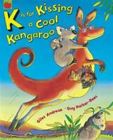K is for Kissing a Cool Kangaroo by Giles Andreae, Good Used Book (Paperback) FR