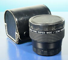 Hama Fischauge fish eye Vorsatzobjektiv Konverter lens Serie 7 - (40371)