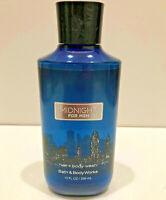 NEW SEALED Bath & Body Works MIDNIGHT for Men 10oz Shower Gel Hair + Body Wash