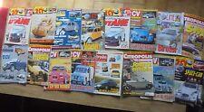 lot 16 Magazines Citroen Revue Planète 2cv SM GS  Jouets Citropolis DS Traction