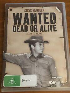 WANTED DEAD OR ALIVE- Steve McQUEEN. Season 1 Vol 3. Region 4.