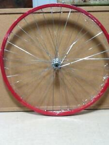 700C FRONT RED BICYCLE ALUMINUM RIM BIKE PARTS RMRT603