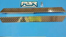 Club Car DS 82 up Golf Cart full DIAMOND PLATED  Rocker Panels