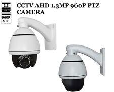 CCTV AHD1.3MP High Speed IR PTZ Camera Zoom Electronic Lens 10X HD 960P Outdoor