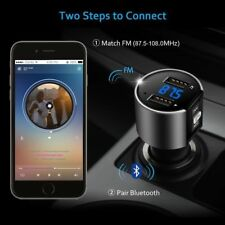Nuevo Estilo Coche Bluetooth MP3 FM Transmisor Inalámbrico Doble USB Cargador De Lcd Kits