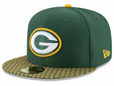 Green Bay Packers NFL Sideline 2017 New Era 59Fifty