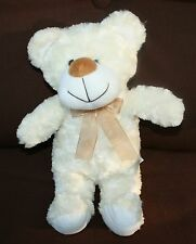 Goody Toy 15 inch soft snugly baby toy cream curly hair plush bear Stuffed