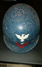 WW2 US Navy Fixed Bale Painted Helmet