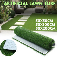 Artificial Grass Turf Lawn Fake Grass Mat Thick Synthetic Turf  Indoor &