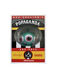 Ron English Ronnnie Rabbbit MINDstyle Popaganda Circus Sideshow Rare 2009 Green