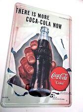 COCA Cola design 9 in metallo latta segni VINTAGE CAFE PUB Garage Arredamento Cucina Retrò