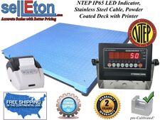 Ntep Legal 60 X 60 Floor Scale Industrial Digital Amp Printer 10000 X 2 Lb