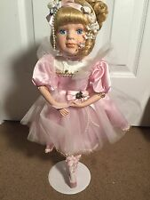 Collectible Porcelain Ballerina Doll