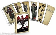 Dragon Age II Playing Cards Poker Card BioWare Videogame Two 2 New Sealed Mint