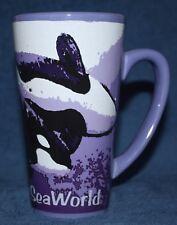 SeaWorld Killer Whale Tumbler Mug Coffee Cup