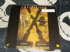 X-Files Colony/ End Game Laserdisc LD Free Ship $30