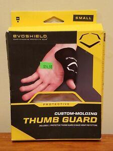 EvoShield Gel-to-Shell Custom-Molding Catcher's Thumb Guard Small Youth Black