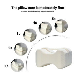 Knee Pillow with Elastic Strap Leg for Sleeping on Side for Side Sleepers SU