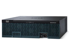 CISCO3945E-V/K9 Router with pvdm3-256 single AC PS  UC license CISCO 3945E VK9