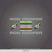 Decals 01287 Ron Cooper Bicycle Stickers Transfers