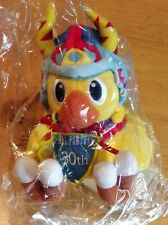 OFFICIAL FINAL FANTASY 30TH ANNIVERSARY CHOCOBO PLUSH SOFT TOY - NEW AND SEALED