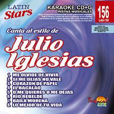 Karaoke Latin Stars 156 Julio Iglesias Vol.1