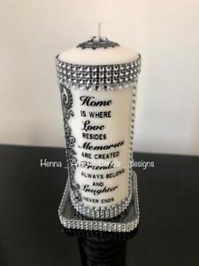 Personalised Henna Gift Candle/ Islamic Candle/ Gift Candle