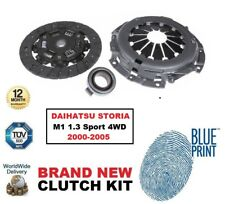 ADL CLUTCH KIT 3 PIECE for DAIHATSU STORIA M1 1.3 Sport 4WD 2000-2005 Hatchback