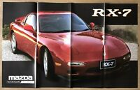c1993 Mazda Range original Australian sales brochure/poster