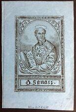 Ignatius de Loyola peregrinaje antiguo andachtsbild santos imagen neidl Viena (o-4948