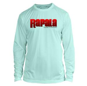 Rapala Long Sleeve Microfiber UPF Fishing Shirt Seafoam Green