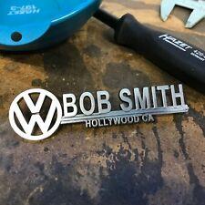Bob Smith Volkswagen VW Dealer Emblem Badge okrasa samba kafer zwitter split T1