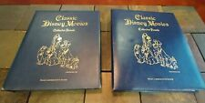 Classic Disney Movies Books Collector Panels 1990 151 Pages 25 Movies 250 Stamps