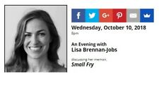 SIGNED Small Fry by Lisa Brennan Jobs daughter of Steve Jobs, Apple, autographed